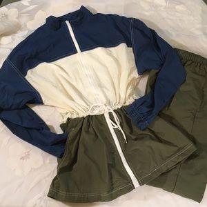 Vintage Pro Spirit Nylon Two Piece Wind Suit